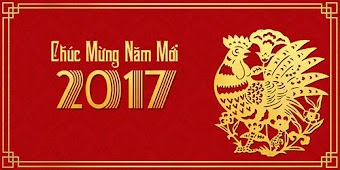 Happy new year 2017 - Chúc mừng năm mới 2017 đến Bà Con Sứ Điệp trên toàn thế giới nhé!