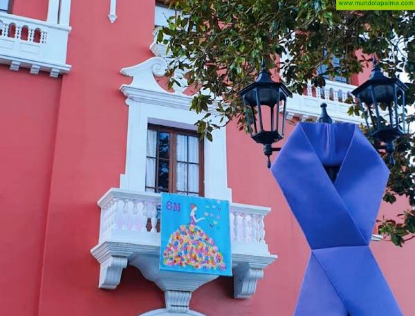 El Ayuntamiento de San Andrés y Sauces rinde homenaje a las mujeres de más de 90 años en la conmemoración del 8M
