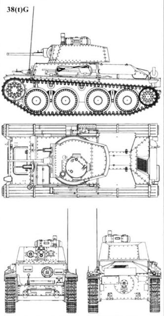 Легкий танк Pz. Kpfw. 38 (t) Ausf.G