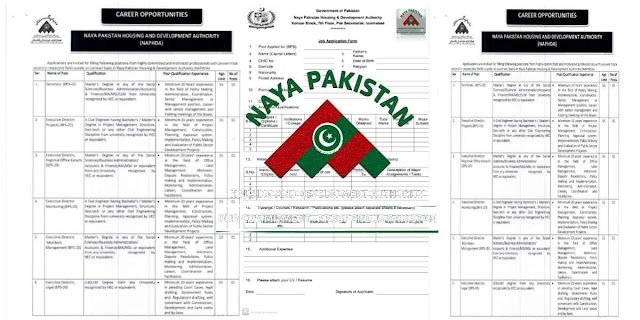 77 Posts in Naya Pakistan Housing And Development Authority NAPHDA Jobs 2021 For Accountant, Assistant, Sub-Engineer, Steno-typist, UDC & more