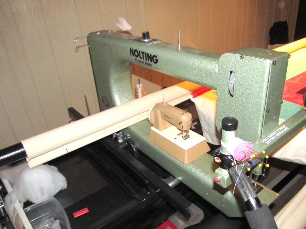 Ann S Quilt N Stuff My Biggest And Littlest Sewing Machines