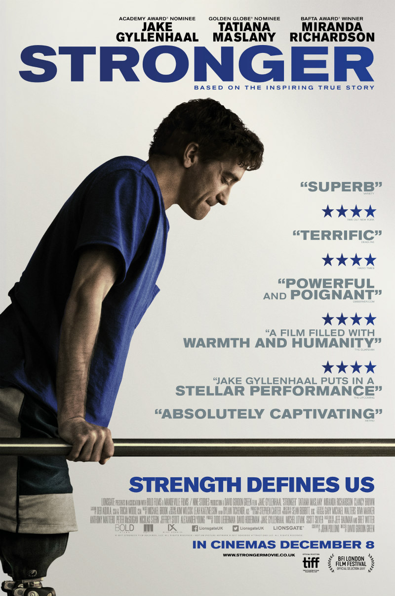 stronger uk poster