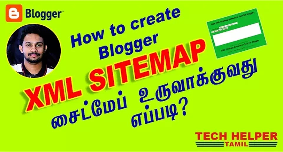 How to Make XML Sitemap for Blogger in Tamil