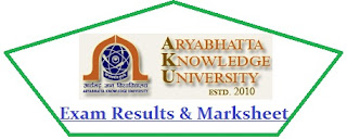 Aryabhatta Knowledge University Results 2021