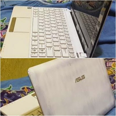 Notebook Asus Pertamaku:  Seri EeePC Putih