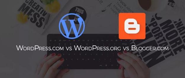 Perbedaan Plaform Blog Publishing Services dan Content Managament System
