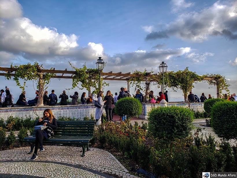 Miradouro de Santa Luzia - o que  fazer em Lisboa