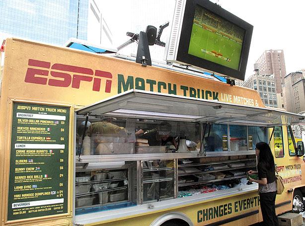 Brand-new Lunch Truck Menu's going Digital TJ26