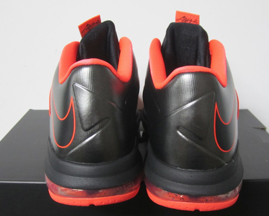 huge selection of 408ef 3dfc6 Nike-LeBron-10-Low-Black-Crimson-3 Images courtesy of eBay seller shoejocky  .
