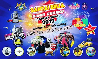 SANTAI BELIA PASIR GUDANG CANTEEK SIHAT 2019