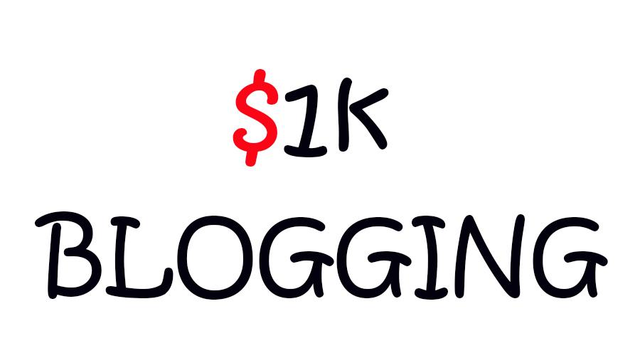 Blogging Money