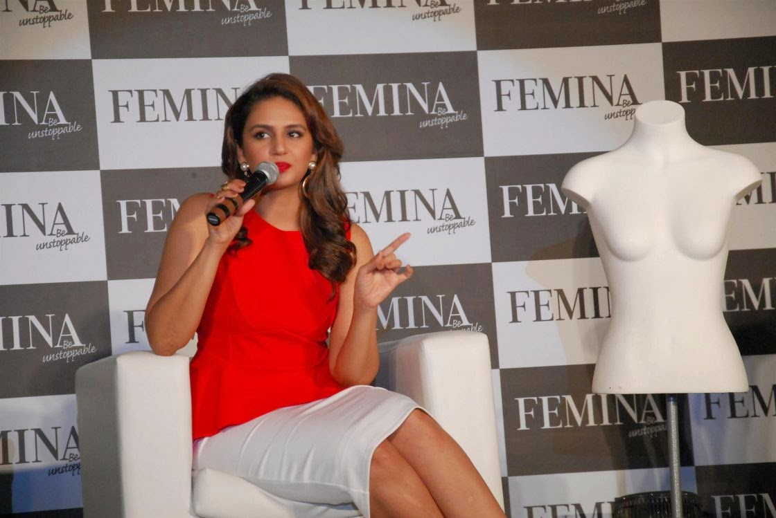 Hindi Model Huma Qureshi 2017 Stills In Pink Dress