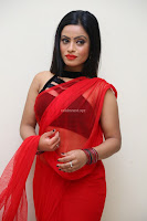 Aasma Syed in Red Saree Sleeveless Black Choli Spicy Pics ~  Exclusive Celebrities Galleries 094.jpg
