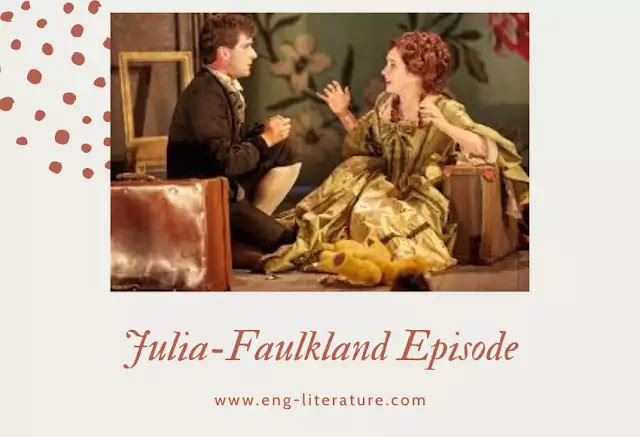 "Significance of Julia-Faulkland Episode in Sheridan's ""The Rivals"""