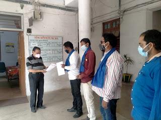 जय भीम सेना सामाजिक संगठन छिंदवाड़ा द्वारा कलेक्ट्रेट कार्यालय में सौंपा ज्ञापन