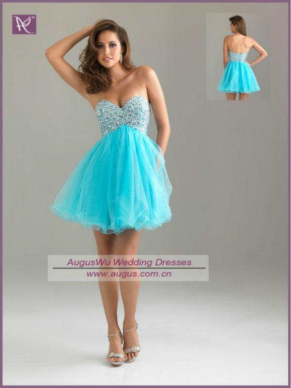 a291afc21 Vestidos para Fiesta Color Turquesa Lindos Vestidos de Color Turquesa para  fiestas