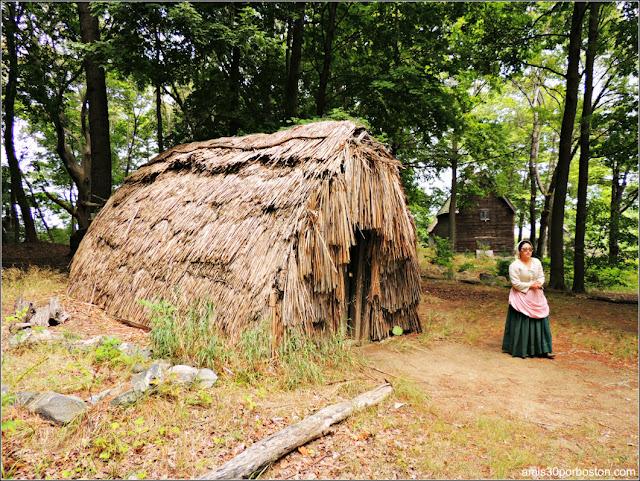 Wigwam en la Salem Pioneer Village