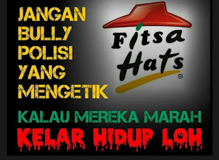 Bully Ustadz Novel Bamukmin, Pizza Hut menjadi Fitsa Hats