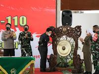 Wakil Gubernur Jatim, Buka TMMD 110 Bojonegoro