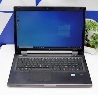 Laptop HP Elitebook 8760W Core i7 bekas