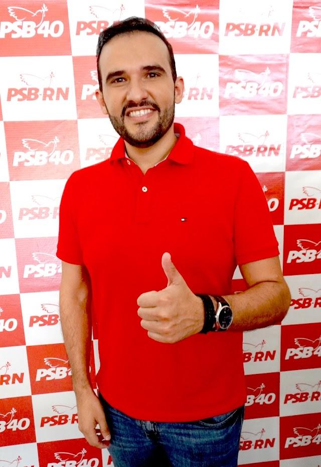 Flauber Soares tem candidatura à vereador de Natal homologada na Convenção do PSB