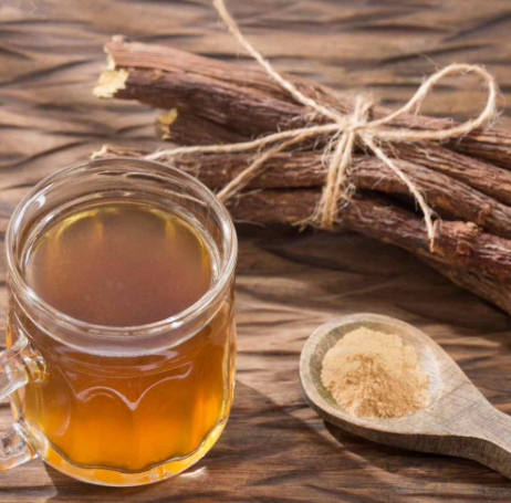 Method of action of refreshing licorice syrup at home