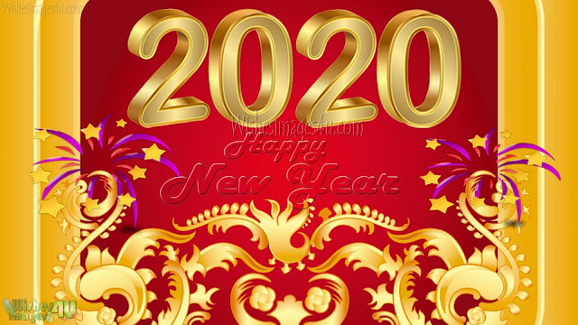 New Year 2020 Golden  Background Images For Desktop