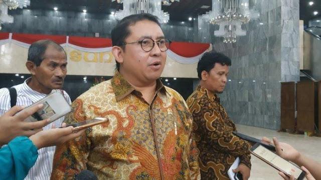 Fadli Zon Curigai SKT FPI Disoal karena Sering Menentang Rezim Jokowi
