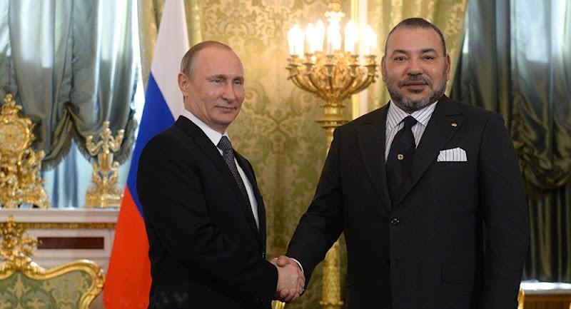 Mohammed VI invite Poutine au Maroc.