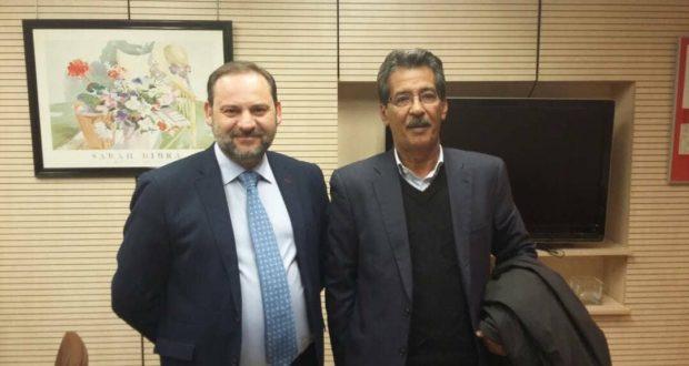 Hach Ahmed se entrevista con el segundo del PSOE