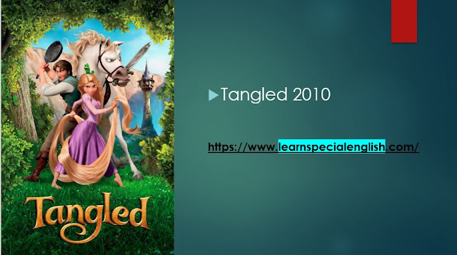 Watch Tangled 2010 and Learn English vocabulary