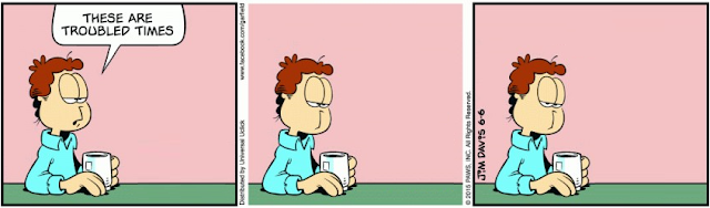 Funny Garfield comics without the cat 9