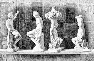 Four Statues; Adolphe Terris