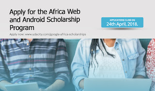Google Africa Scholarship Program for Aspiring Developers 2018 and How to Enroll