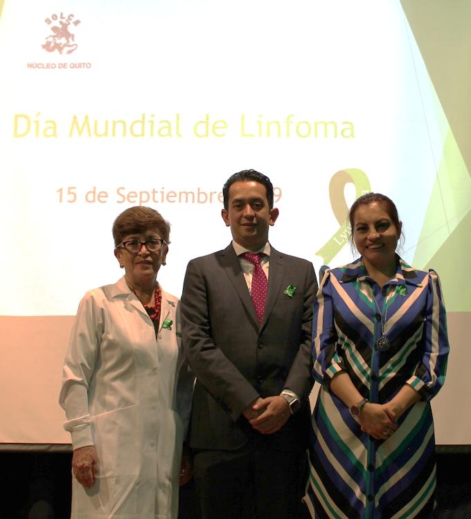El día mundial del linfoma se celebró junto a Takeda y Solca