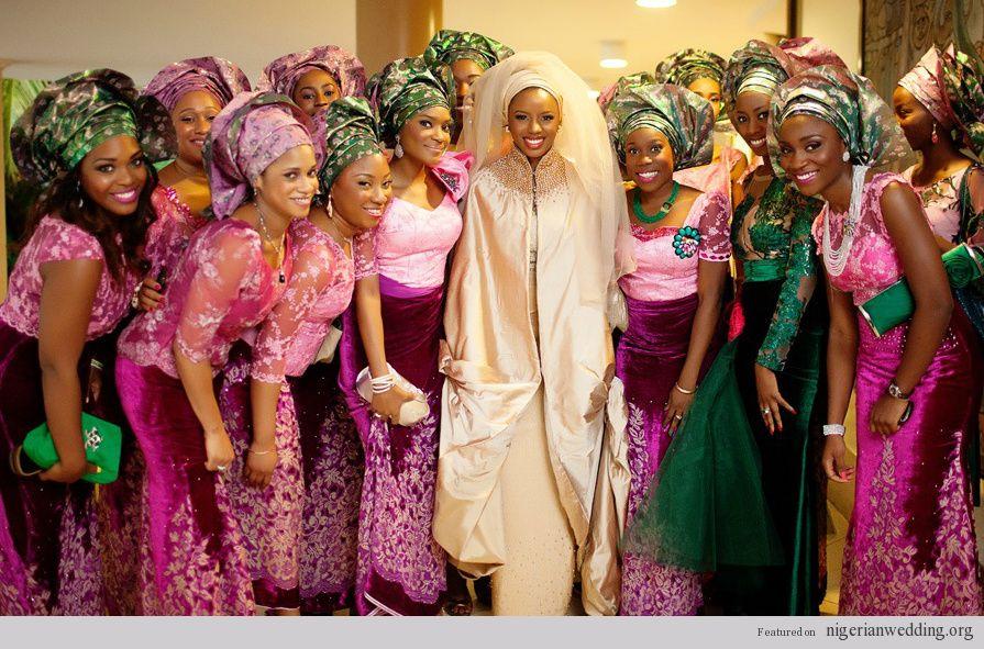 African Pearl Bridal: The New Wedding Fabrics Mix