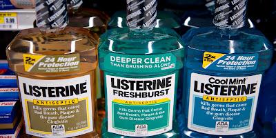 listerine,tips dari listerine, kegunaan listerine,rawat mulut guna listerine,harga listerine,listerine percuma
