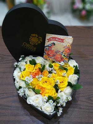 jual flower box surabaya, yang jual bunga mawar di surabaya, toko bunga terdekat 24 jam
