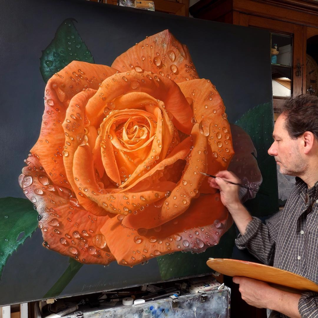 01-Gioacchino-Passini-Realistic-Paintings-of-Flowers-and-Roses-www-designstack-co