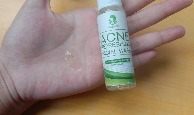 ebright skin acne series