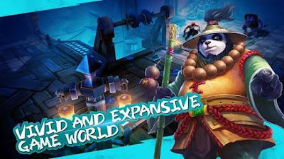 Download Taichi Panda : Heroes v1.1 MOD Apk (Unlimited Mana) Screenshot 2