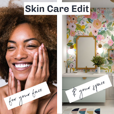 how to home edit your skin care products