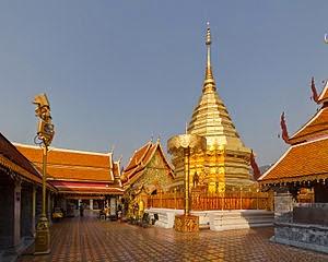 Wat Phra That Doi Suthep, Chiang Mai, Chiang Mai Province, Thailand