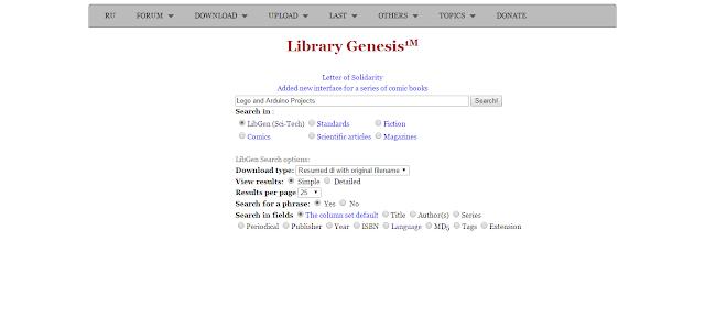 موقع رائع لتحميل الكتب الغير مجانية