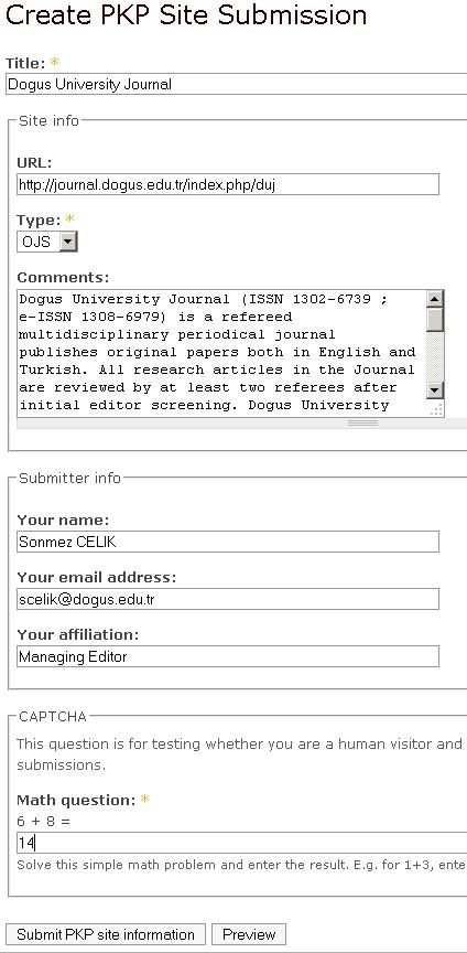 Açık Hava Kütüphanesi: PKP'ye Dergi Sitesi Nasıl Kayıt Edilir?