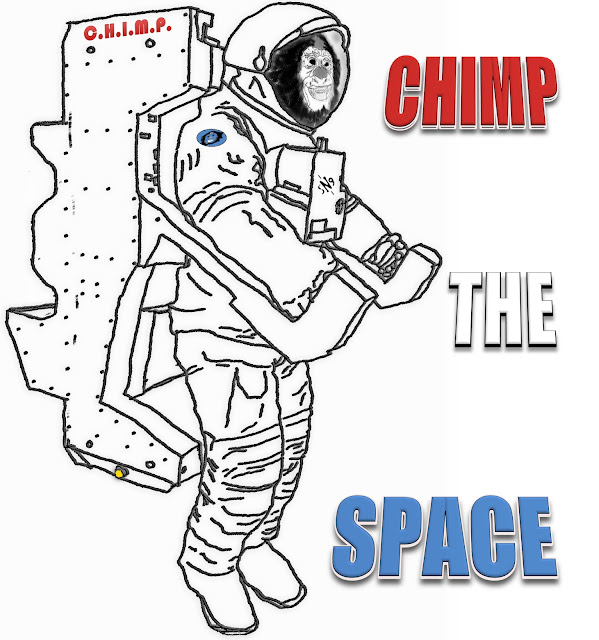 chimp the space (by @sciencemug & @sngshp)