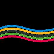オリンピックのイラスト文字