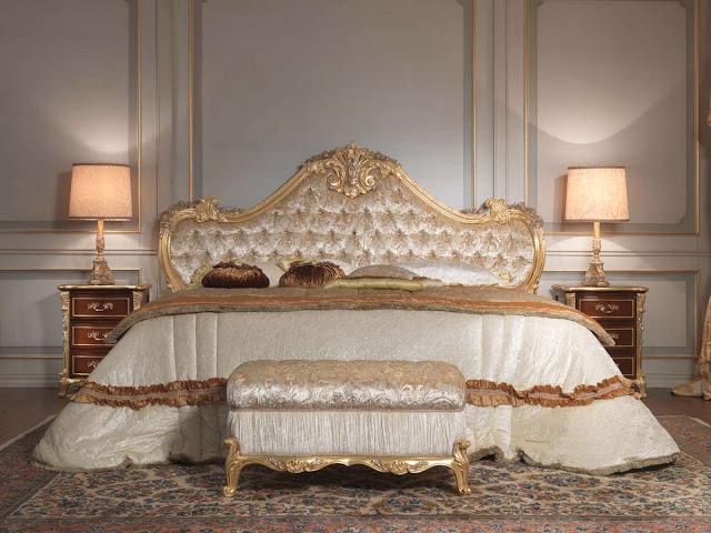 giường ngủ phong cách cổ điển