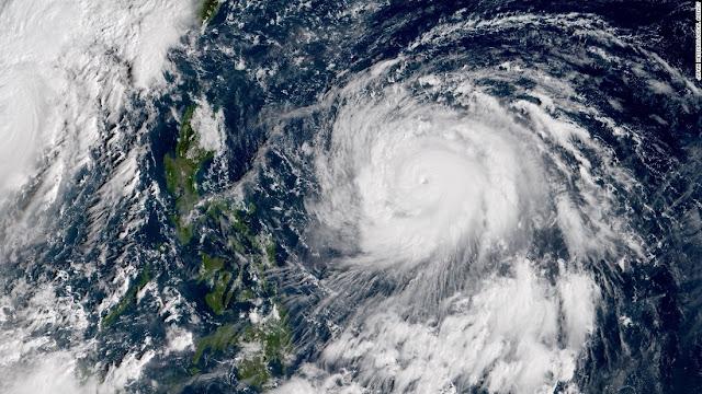 Typhoon Haimi Philippines