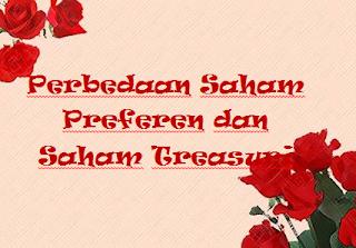 Perbedaan Saham Preferen dan Saham Treasuri